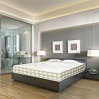 DAGOSTINO HOME Colchón Viscoelástico con Muelles ensacados Boutique Hotel ATHENEA Confort y Diseño de Hotel de 5 Estrellas, Alta Gama,