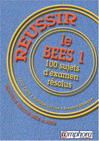 Réussir le B.E.E.S. 1 : 100 sujets d'examen résolus Poche – 1 février 2003 Bernard Turpin Amphora 2851806106 Sports