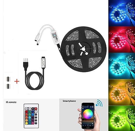 Goeco WIFI Tira LED RGB LEDs Habitacion Inteligente Tira Luces LED Habitacion, Inteligente Tiras LED