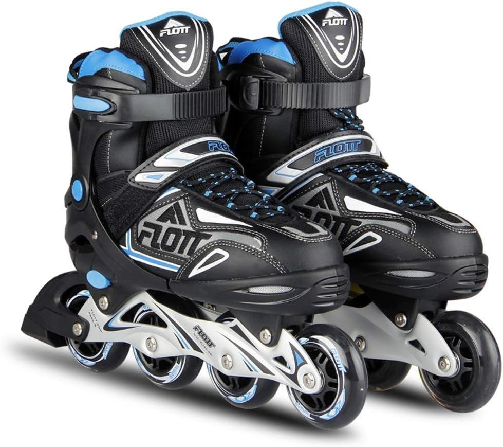 インラインスケート 男性のインラインスケート初心者スピードスケート靴ローラースケート、快適で 大人の1列スケート靴 (サイズ さいず : Adjustable (39-42))  Adjustable (39-42)