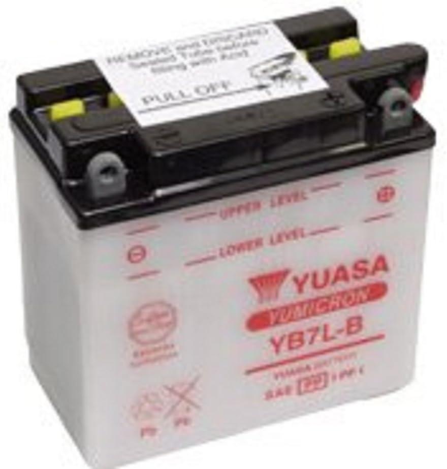 Batterie Moto Yuasa YB7L-B2 12v 8Ah