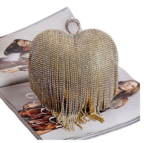 Or 2 femme à BESTWALED porter l'épaule Doré à Sac YHB422 doré pour w8wnZ
