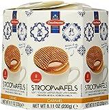 Daelman's Caramel Wafer, Stroopwafel 8.11 OZ (230g)