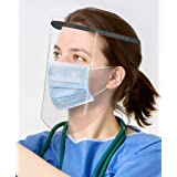 Oakridge Face Shields   3 pack   High Optic Shield   Slim Line Adjustable Comfort Headband   Not Made in China   Anti Fog