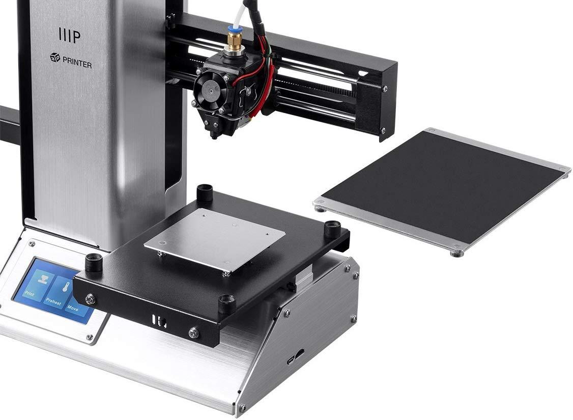 Monoprice Select Mini Pro Impresora 3D – Aluminio con (120 x 120 x ...