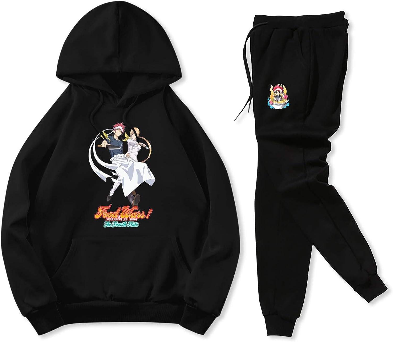 DEMISCHO Foo-d War Music Teen Soft Pocket Pants Sets Hoodie Sweatpant Suit 2-Piece boy Girl Unisex