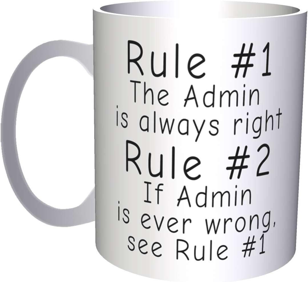 Rule 1 The Director Is Always Right Rule 2 see Rule 1 11oz Mug d69