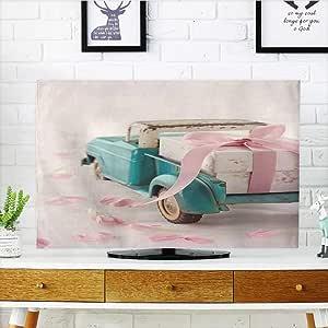 Analisahome Protege tu televisor Antiguo gr Marco Paredes estucas griegas Cultura Romano Vintage Proteger tu TV W19 x H30 Pulgadas/TV 32 Pulgadas: Amazon.es: Hogar