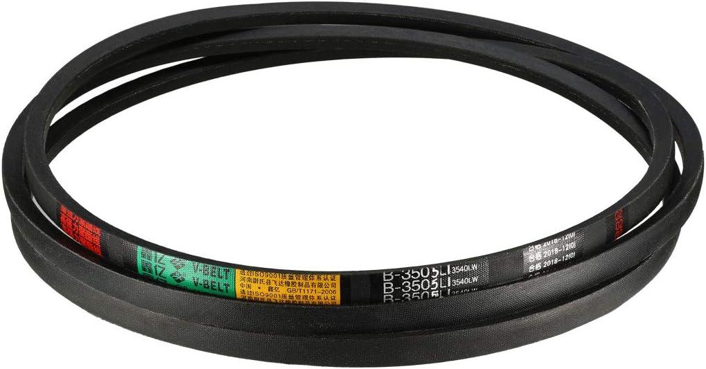 uxcell/® B-3505//B138 Drive V-Belt Inner Girth 138-inch Industrial Power Rubber Transmission Belt