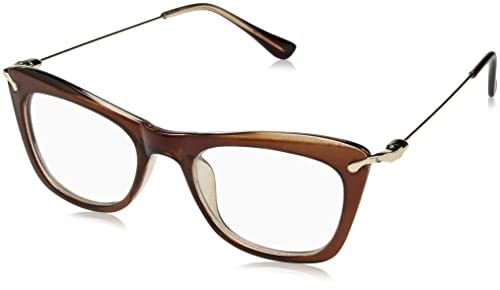 Tijn ojo de gato gafas marcos con brazos de metal para las mujeres
