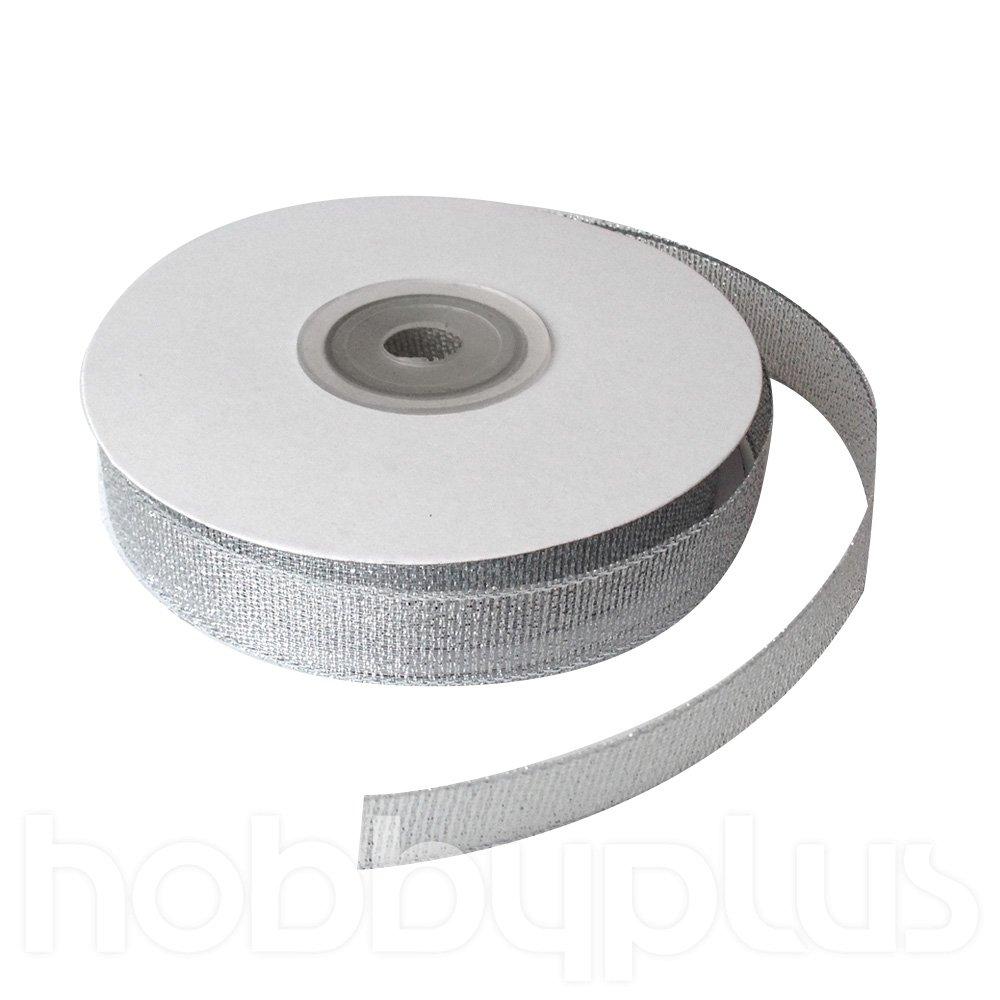 Metallic Ribbon 22meters 15mm Organza. Gifts & Cake Wrapping. (Metallic Gold)