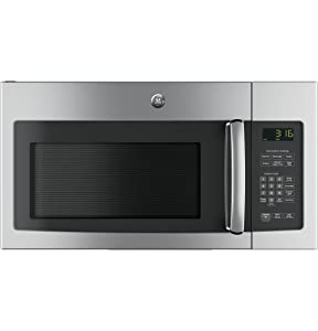 "GE JNM3163RJSS 30"" Over-the-Range Microwave with 1.6 cu. ft. Capacity, in Stainless Steel"