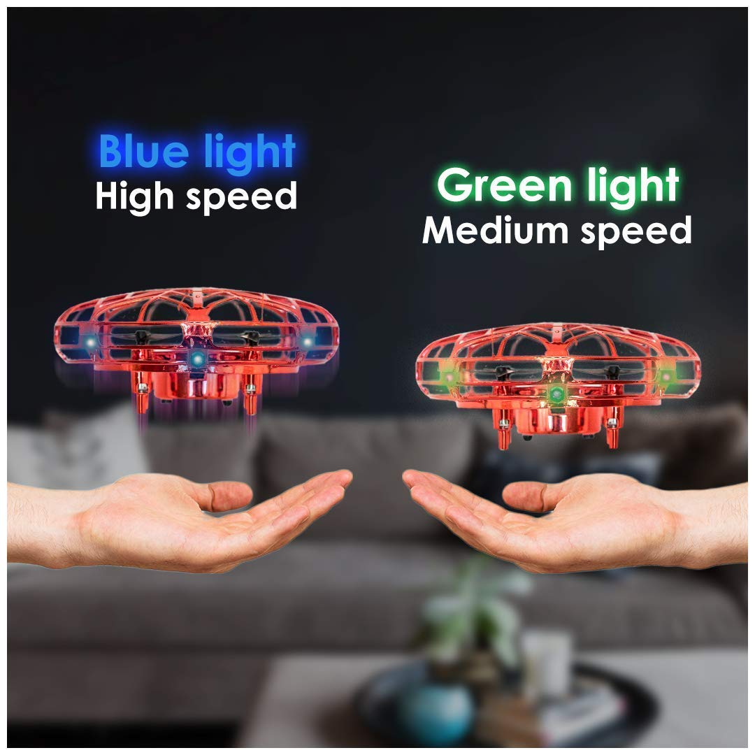2019 StarWarZ New Hand Operated Drone Red