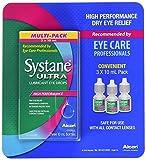 Systane Ultra Lubricant Eye Drops 3 Bottle, 10 ml Each