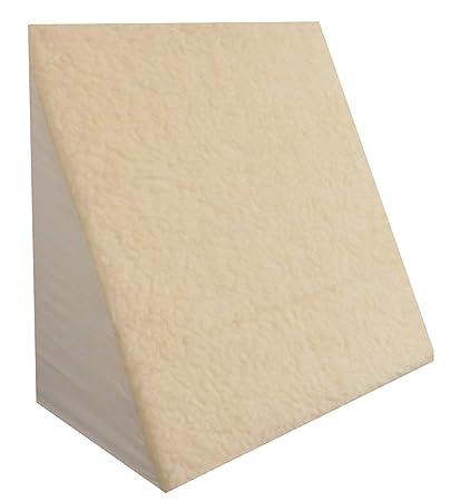 Shellmark – Almohada en cuña, cubierta de forro polar, de gran tamaño 610 x