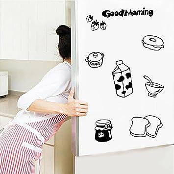 Pegatina Nevera Cocina Pegatinas de Pared Refrigerador Pegatinas ...
