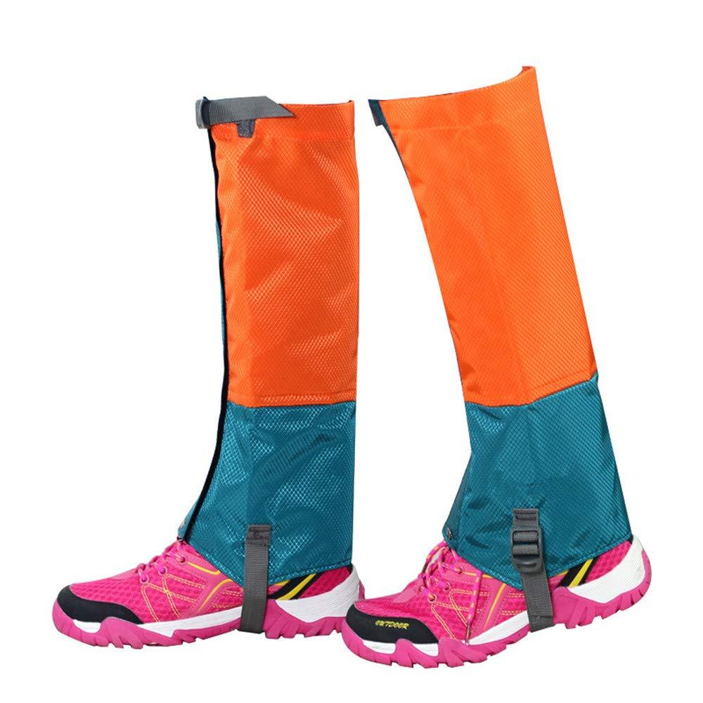 Couvre-chaussures cyclisme, Guêtres imperméables pour la randonnée, jambières durables, jambières respirantes, couvre-jambes hautes pour hommes, enfants, enfants, pour le trekking en montagne, ski, r xingxiu