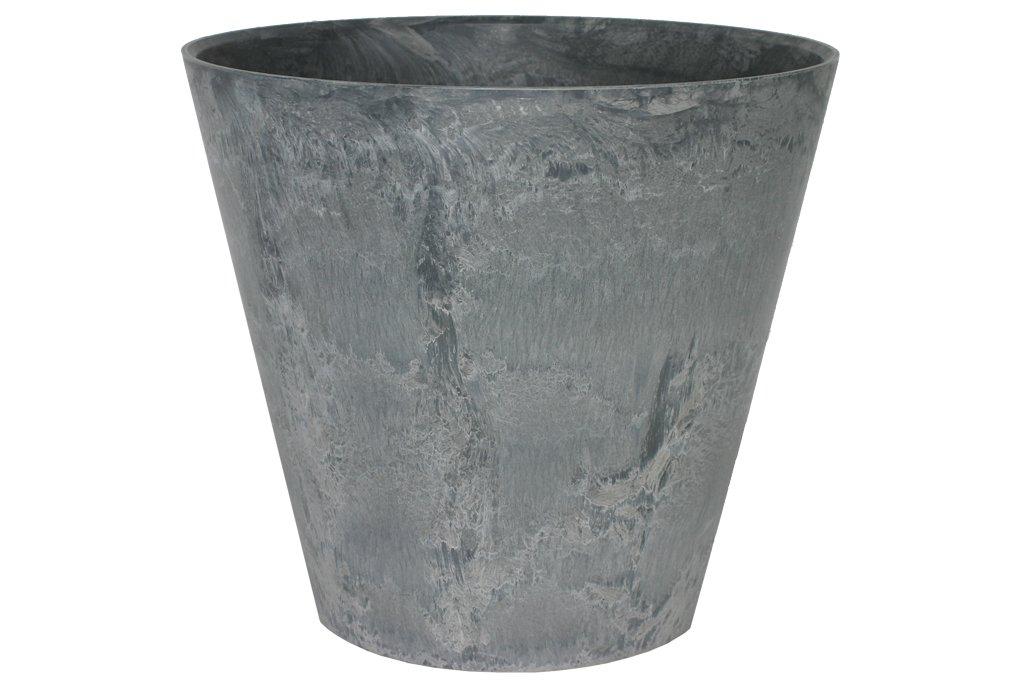 Artstone Vaso da Fiori, per Piante Claire, Resistente al Gelo e Leggero, Grigio, 47x47cm