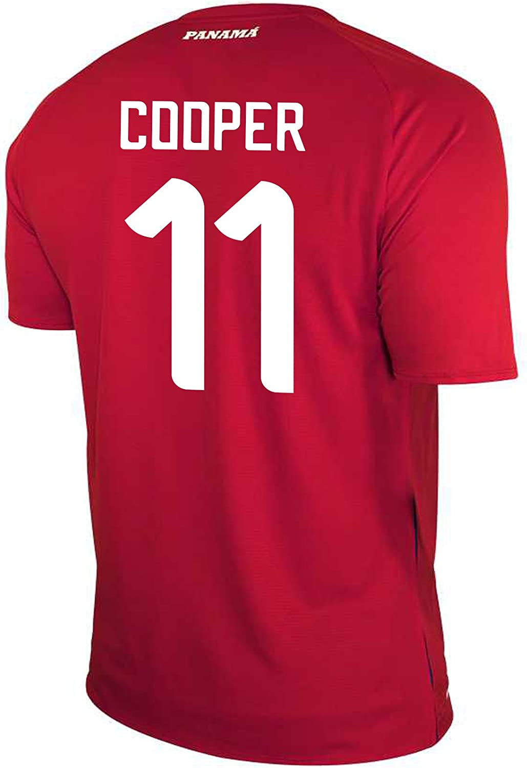 New Balance Cooper #11 Panama Home Soccer Men's Jersey FIFA World Cup Russia 2018