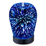 SZTROKIA-Ultrasonic-Aromatherapy-Oil-Diffuser-150ml-Essential-Oil-COOL-MIST-Humidifier-with-3D-14-Color-Changing-Starburst-LED-lights