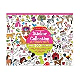 "Melissa & Doug Sticker Collection Book; Arts & Crafts; Princesses, Tea Party, Animals, and More; 500+ Sticker Animals; 14"" H x 11"" W x 0.2"" L"