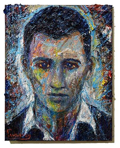(UNTITLED x1284 - Original oil painting portrait)