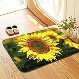 SweetHome Sunflower Comfort Carpet Suitable For Stairway/Toilet/Study/Floor/Bedroom/Living Room/Bathroom/Kitchen/Home Decoration/Area