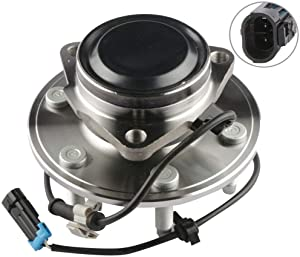 MOSTPLUS Wheel Bearing Hub Front Wheel Hub and Bearing Assembly 515054 for Chevy Cadillac GMC with ABS 6 Lug Only for 2WD