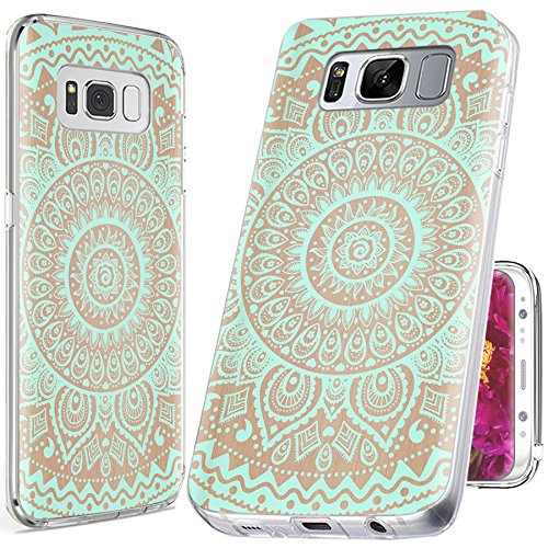 more photos 7269a 63a7f S8 Case Cute Cool,S8 Case for Girls, ChiChiC [ Cute Series] Full Protective  Slim Flexible Soft TPU Rubber Cases Cover for Samsung Galaxy S8,geometric  ...
