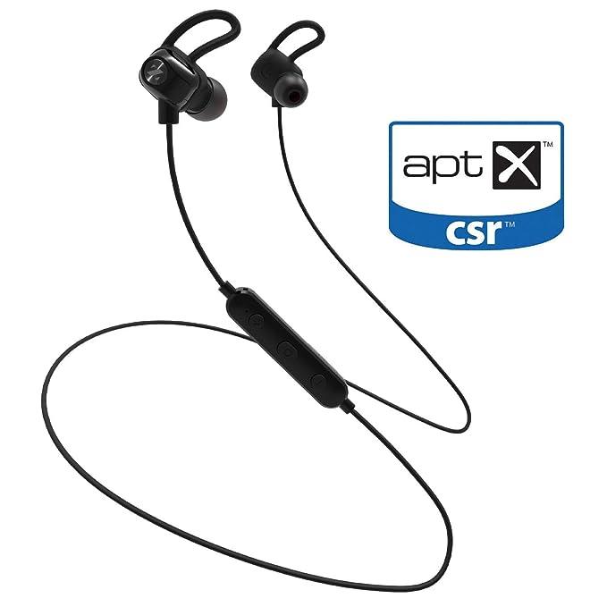 ZeptX Auriculares deportivos Bluetooth inalámbricos impermeables ...