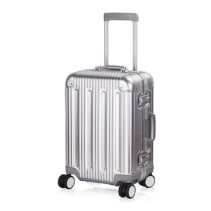Amazon.com: TravelKing Maleta de equipaje de aluminio rígido ...