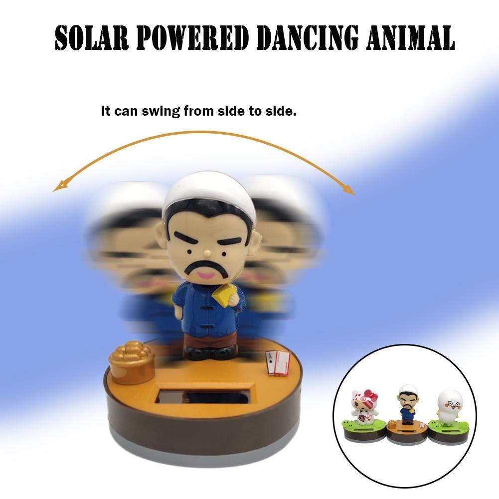 flower205 Wackelfigur Auto Solar Solarfigur,Tier Solar Wackelfiguren Animierte T/änzerin Spielzeugauto Dekor Solar Wackelfiguren Kinderspielzeug Geschenk