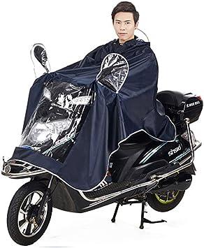 Chubasquero impermeable con gran capucha para Moto/ bicicleta ...