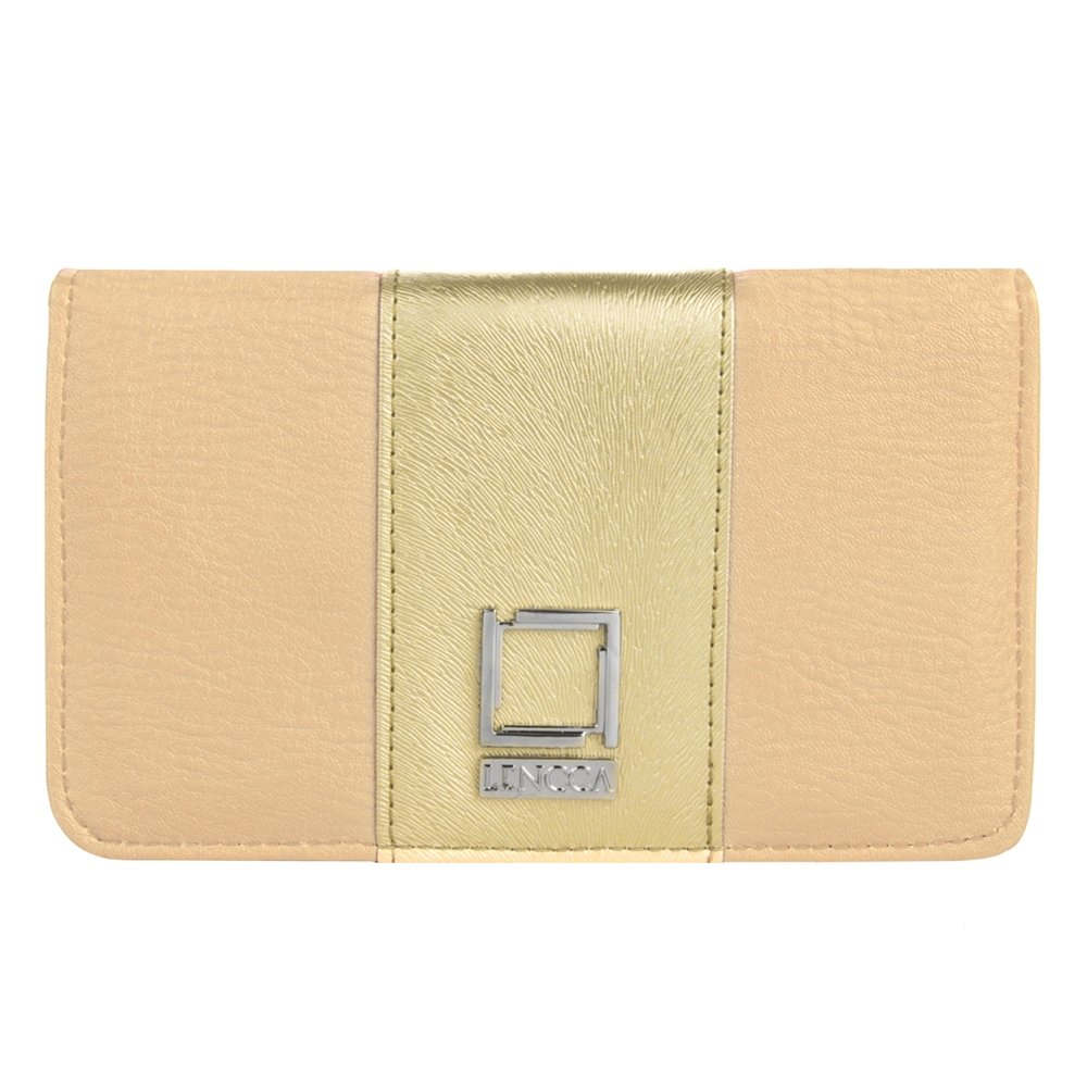Women's Night Life Clutch Beige / Gold for Nokia by BestPriceCenter