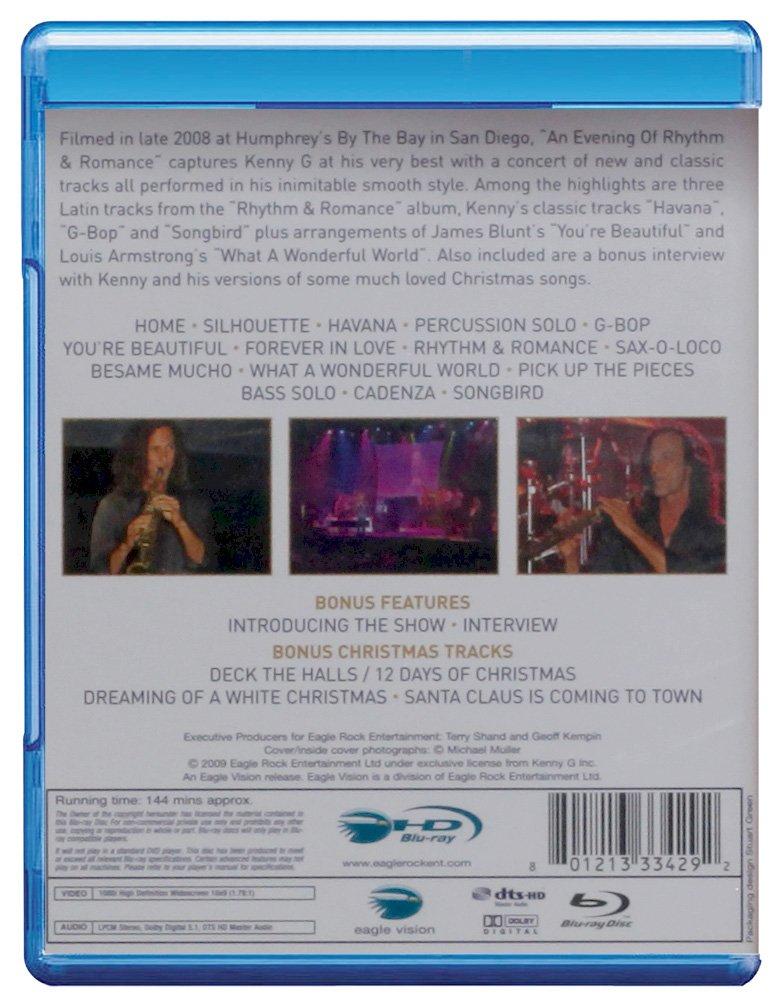 Kenny G: An Evening of Rhythm Romance [Blu-ray] by DVD