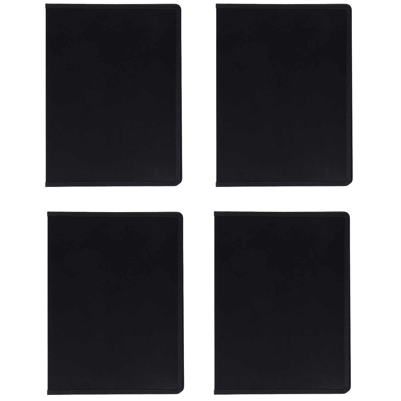 Itoya Art Profolio Evolution 9x12 Presentation/Display Book (Black, 4 Pack)