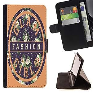 King Case - FOR LG Nexus 5 D820 D821 - Spread beauty and happiness - Prima caja de la PU billetera de cuero con ranuras para tarjetas, efectivo Compartimiento desmontable y correa para la mu?eca
