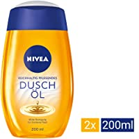 Nivea Natural Duschöl, 2er Pack (2 x 200 ml)