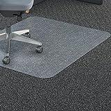 Lorell LLR69703 Polycarbonate Rectangular Chair Mat, 7.09' Height X 26.77' Width X 73.62' Length