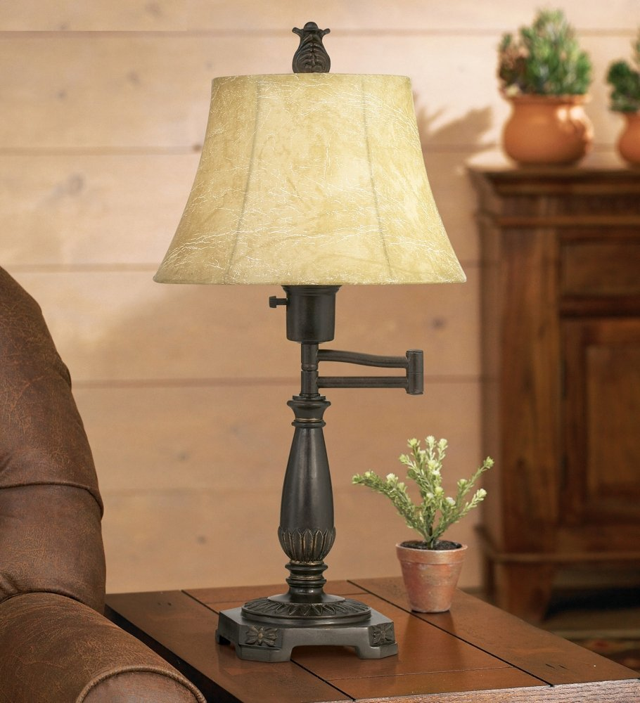 Bronze finish swing arm lamp by regency hill amazon mozeypictures Image collections