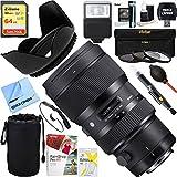Sigma 50-100mm f/1.8DC HSM ART Lens for Nikon SLR Mount + 64GB Ultimate Filter & Flash Photography Bundle