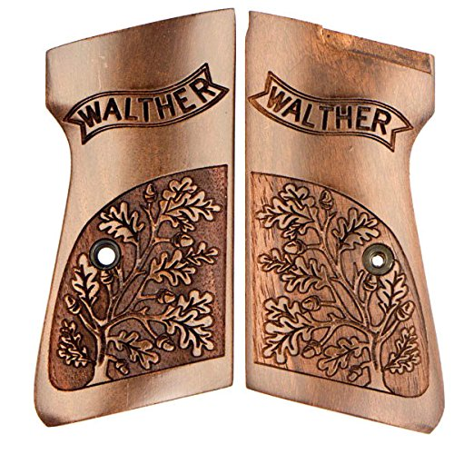 CLIMAGS Walther PPK/S Grips - Premium - Walnut