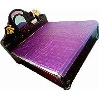 Deerosita Baby Plastic/PVC Waterproof Mattress Protector Sheet (6.5x6 ft, Multicolour)