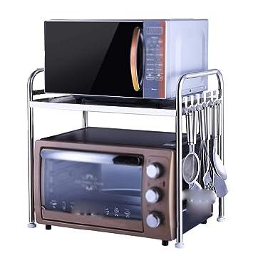 ACZZ Rack de cocina de acero inoxidable, piso Horno de ...