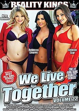 We Live Together 22 Amazon Co Uk Celeste Star Rebecca Linares Bree Daniels Jada Stevens Karlie Montana Dvd Blu Ray