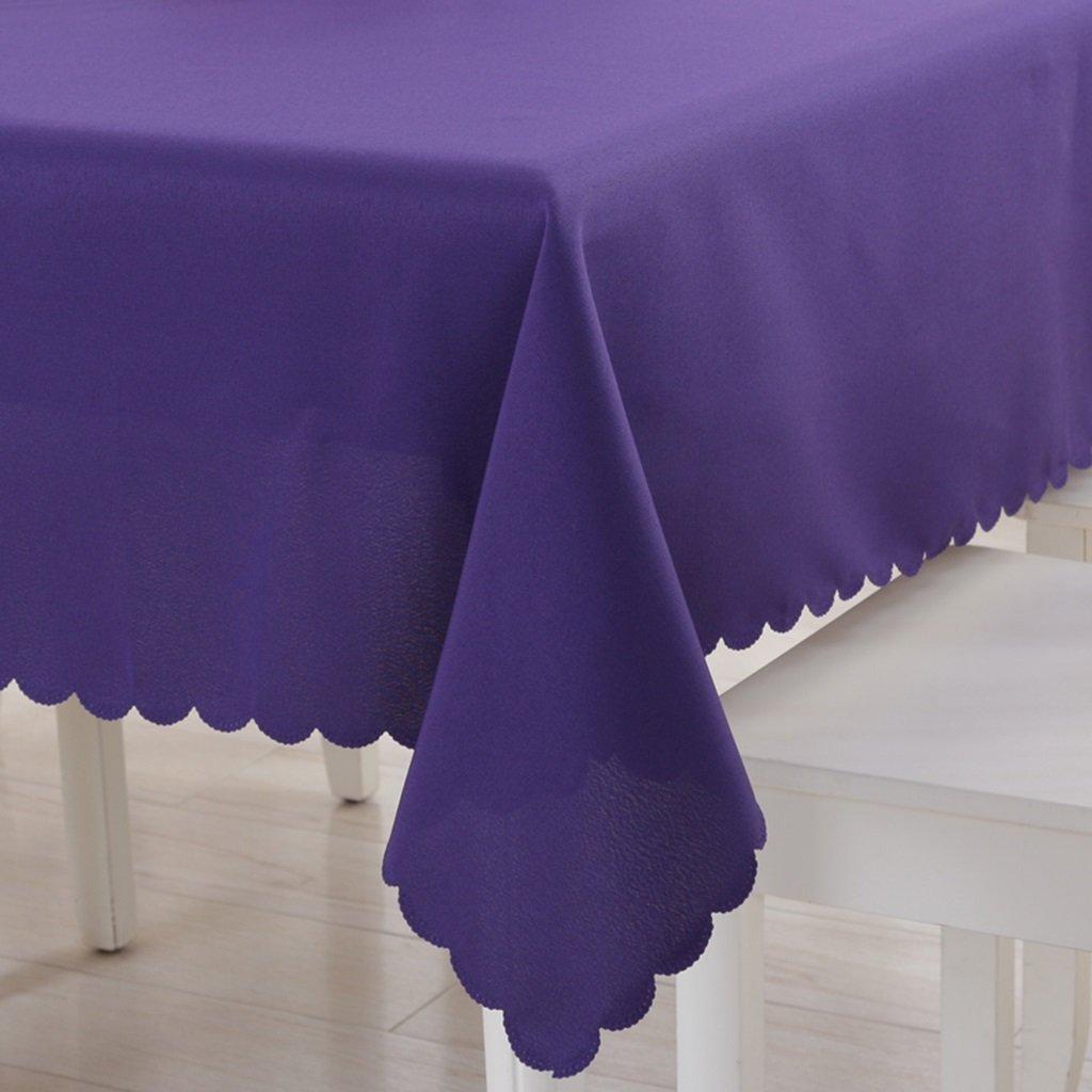 Unbekannt %Tablecloth Hotel Hochzeit Hotel Tischdecke Solid Farbetablecloth Rechteck Tischdecke Büro Konferenz Tischdecken (Farbe   A, größe   150  210cm) B07G558HDW Tischdecken Glücklicher Startpunkt    Qualität und Quantität garantiert