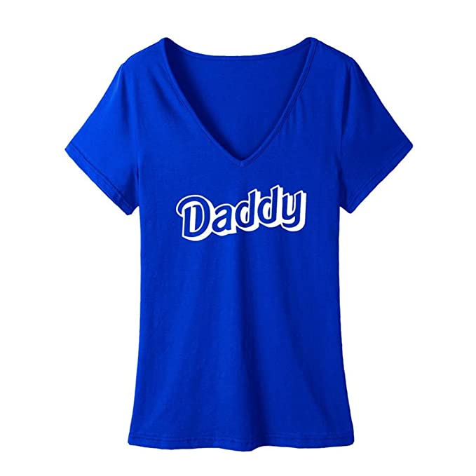 Amazon Com Daddy Hot Selling Women Design Letters T Shirt Plus Size