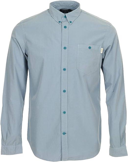 Paul Smith Jeans Chemise Slim Fit, Camisa - S: Amazon.es: Ropa y accesorios