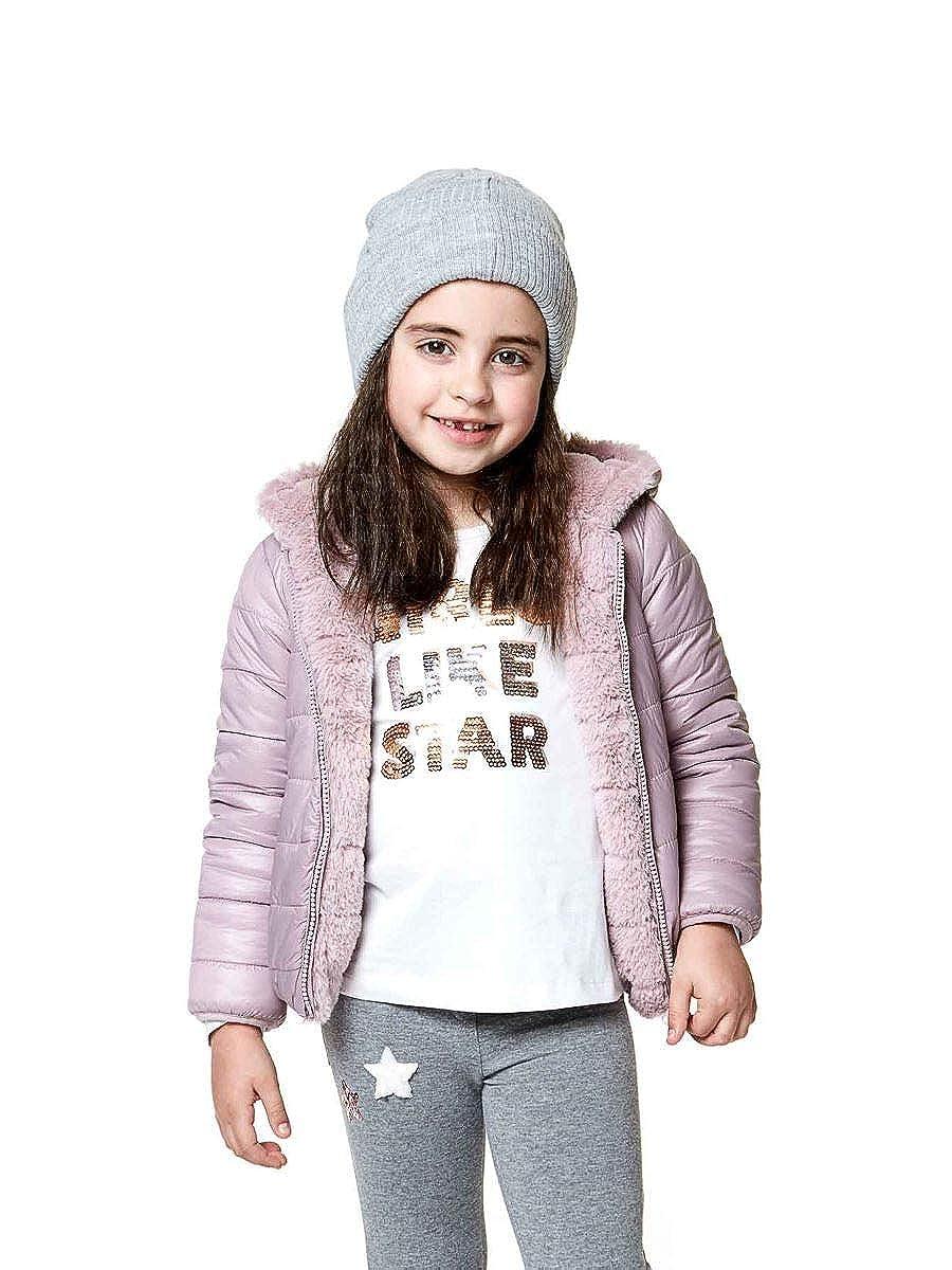 LOSAN Giacchetto Little Girls in Ecopelliccia