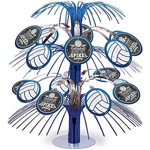 Volleyball Cascade Foil Centerpiece (Each) ()